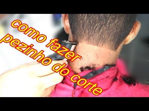 be7b7e414 como fazer o pé do cabelo-com máquina de acabamento e navalhete2016 -  YouTube