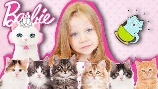 VLOG: Барби и кошечка Блиса идут в Котокафе. Кафе с кошками в Москве