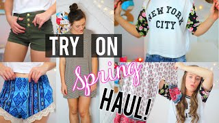 Spring Try on Haul! | Forever 21, Urban Outfitters + More! | Breezylynn08