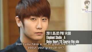[Eng sub] Making film MV rainy heart - Heo Young Saeng first solo story DVD