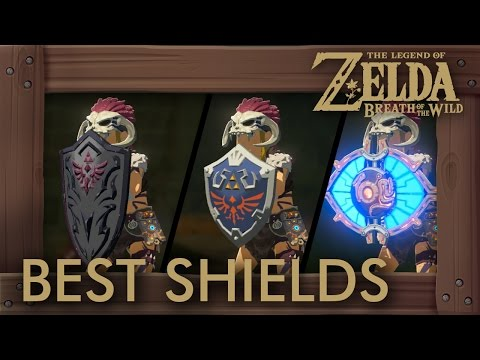 Zelda Breath of the Wild Best Shields - Where to Find the
