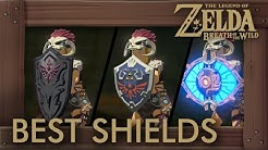 Zelda Breath of the Wild - Best Shields by Durability + Parry Power