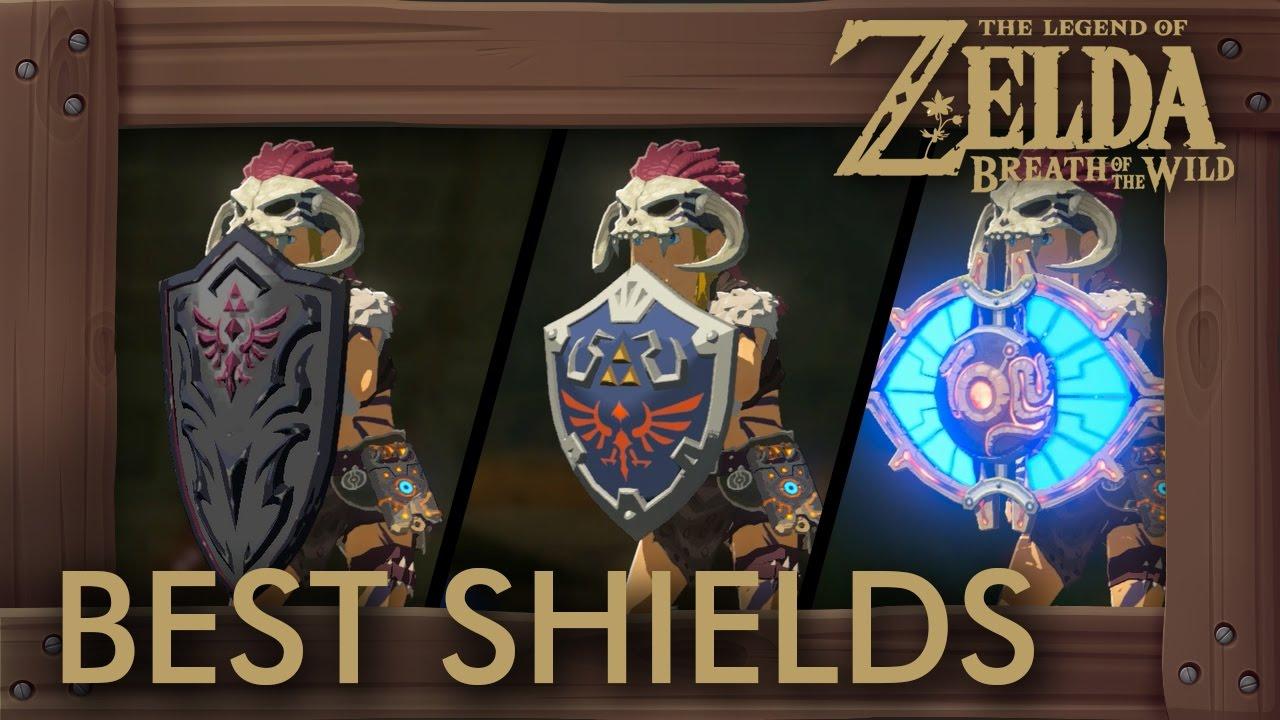 Zelda Breath of the Wild - Best Shields by Durability + Parry Power
