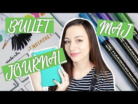 Zaplanuj ze mną MAJ - Bullet Journal 2018