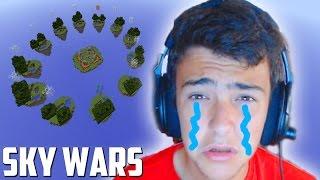 UN FINAL MUY MUY TRISTE + PESCADO LOCO - Sky Wars Minecraft - DaniRep