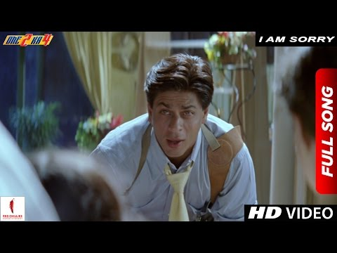 I am Sorry Full Song | One 2 Ka 4 | Shah Rukh Khan, Juhi Chawla