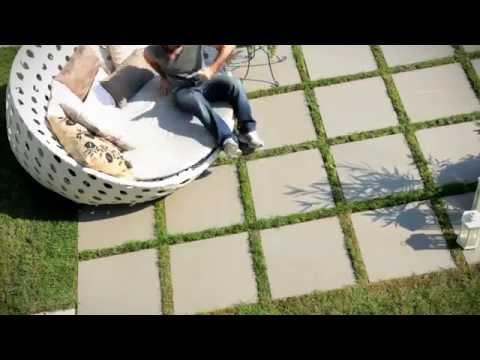 Pavimentazione giardino doovi - Piastrelle posa a secco ...