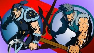 Shadow Fight 2 Бой с тенью #24 Ирбис Лиса Старик Гадюка Мангуст Мор Коготь Лилия игровой мультик