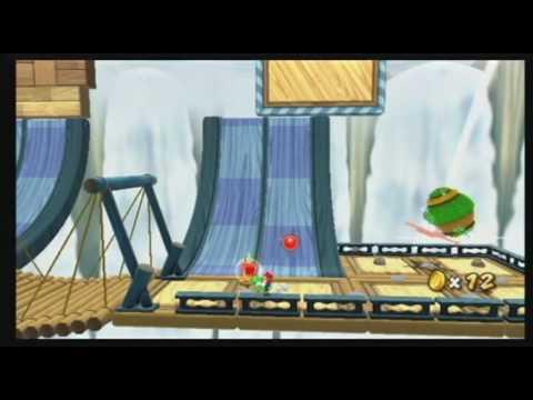 Super Mario Galaxy 2 - Yoshi's Dash Peppers