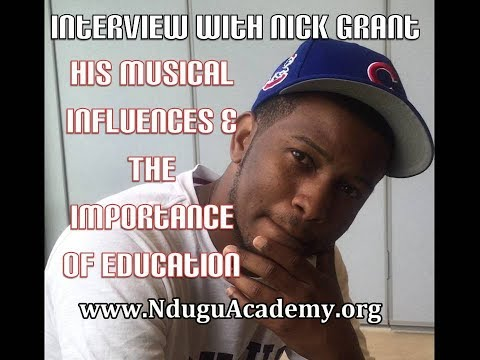 Nick Grant on 90's Hip Hop and The Importance of Education