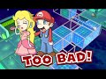 HILARIOUS! THIS GAME TOO HARD! [SUPER MARIO 3D WORLD]
