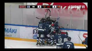 U17: Suomi voittoon Venäjästä tällä jatkoaikamaalilla