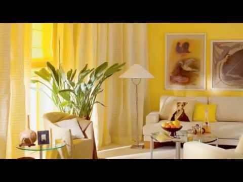 Дизайн интерьера. Желтый интерьер.