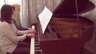 E. Elgar - Salut D'amour, Op. 12 Duet with my student Alexa. Visit ...