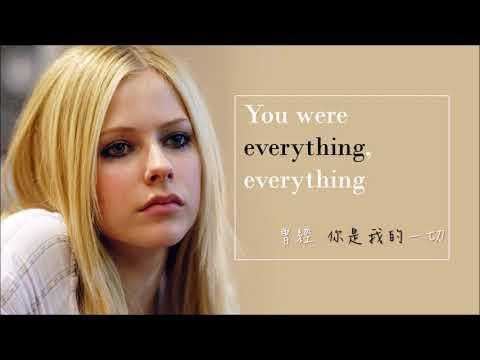 英繁字幕Avril Lavigne - My Happy Ending🎶  美好結局  艾薇爾經典歌曲 