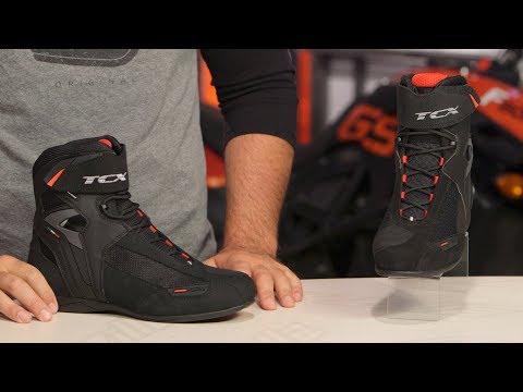 TCX Vibe Boots Review at RevZilla.com
