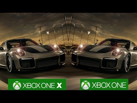 Forza Motorsport 7 Xbox One X Reaches Full Native 4K/60fps, Comparison With Xbox One!
