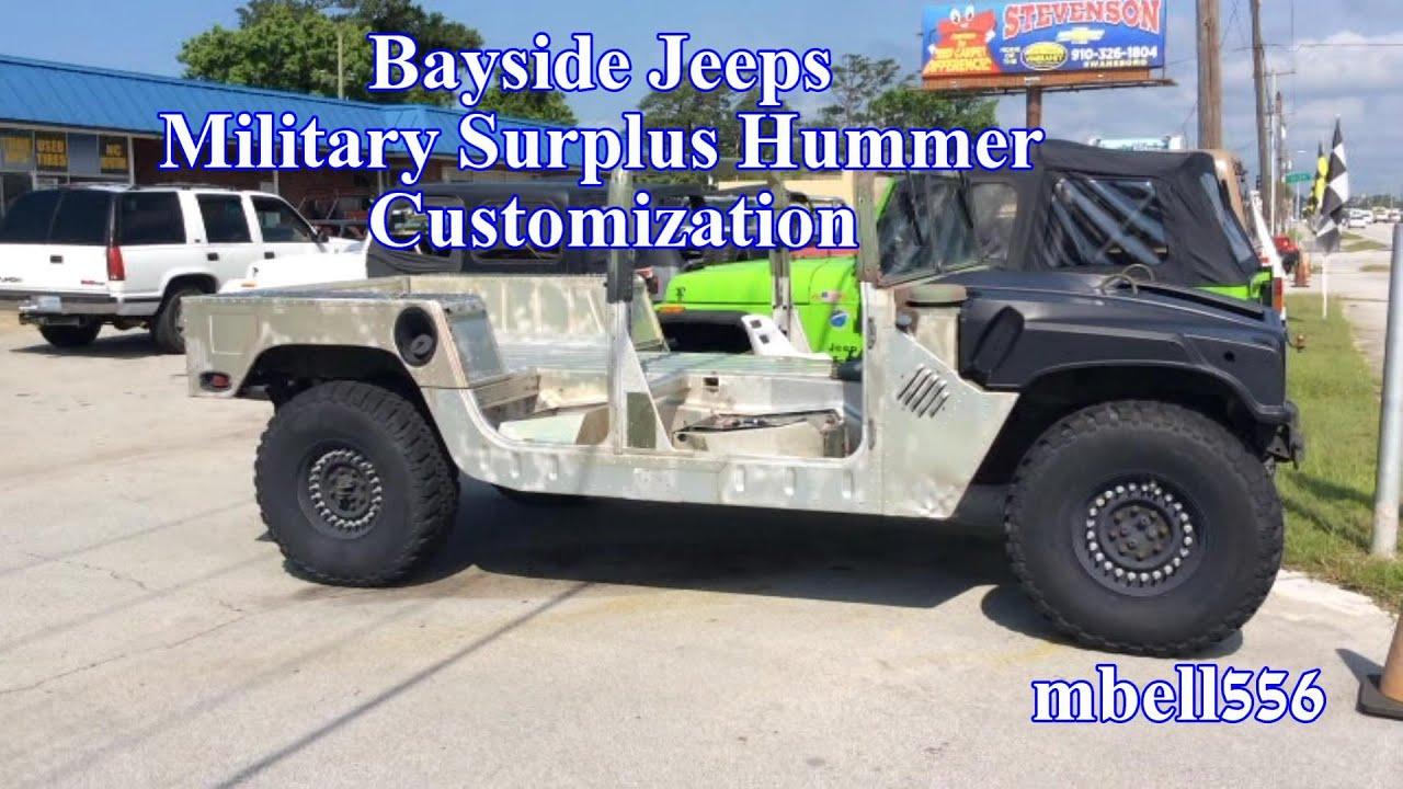 Military Humvee Customization Custom H 1 Hummer Mods