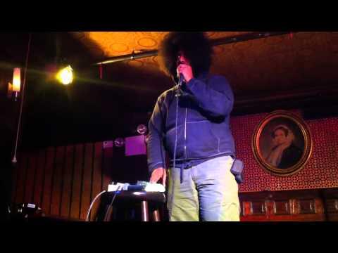 Reggie Watts live at Union Hall 12/23