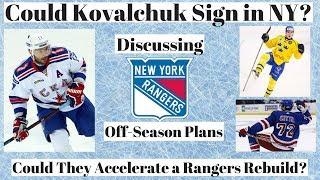 NHL Trade Talk - Kovalchuk Rangers? Rangers Review off-season Plans