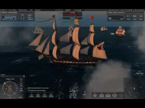 Naval Action Large Admirality Fleet Mission 6 vs 10