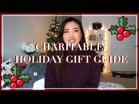 GIFTS THAT GIVE BACK! (Charitable Holiday Gift Guide) 💝✨