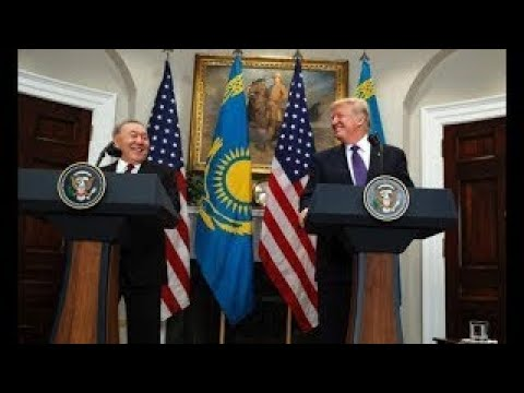 WATCH: President Trump has Joint Press Conference with President Nursultan Nazarbayev of K