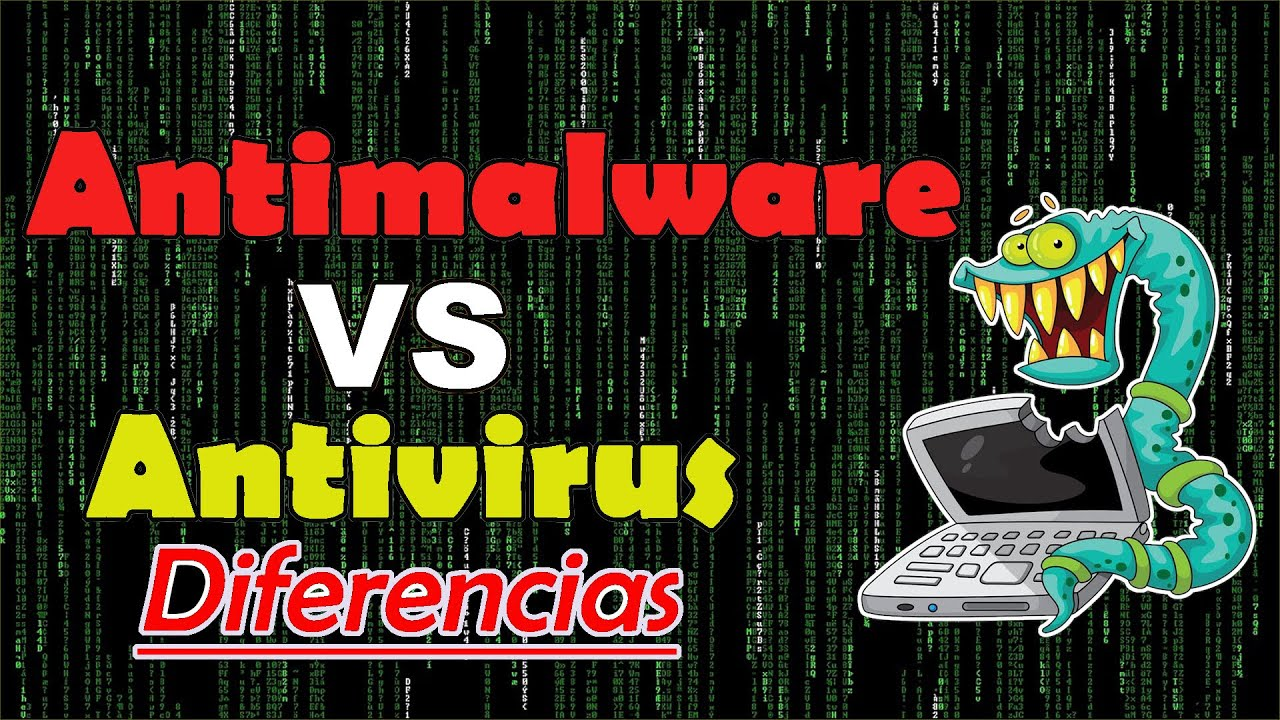 Diferencia entre Antivirus y Antimalware - YouTube