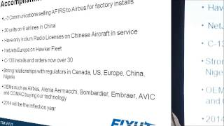 flyht aerospace investor presentation november 6 2013