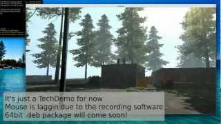 Blender newest tech demo: False Truth