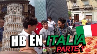HB EN ITALIA Parte 1 /Harold - Benny/ #MiercolesDeMiercolesHB