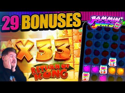 BEST BONUS HUNT EVER!! Opening 29 Slot Bonus'
