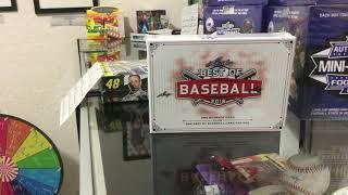 2018 Leaf Best of Baseball 1 box break