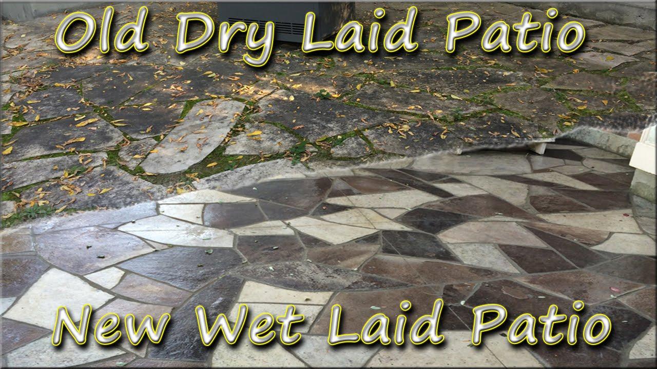 Ottawa Flagstone Patio Rebuild - Dry Laid to Wet Laid ...