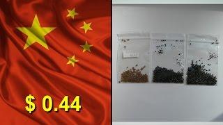 Семена почтой из Китая - Семена Киви и Семена Мухоловки(, 2015-05-07T18:48:13.000Z)