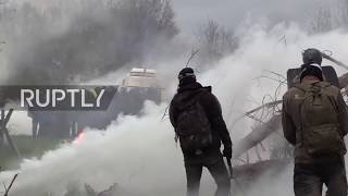 France: ZAD eco-camp eviction battle continues between riot police and radical activists
