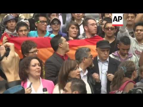 March in support of gay rights and against Russia's homosexuality policies from YouTube · Duration:  1 minutes 53 seconds