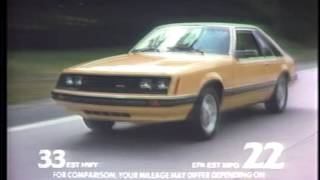 1982 Ford Mustang TV Ad Commercial  (2 of 4). 9to5 spoof!