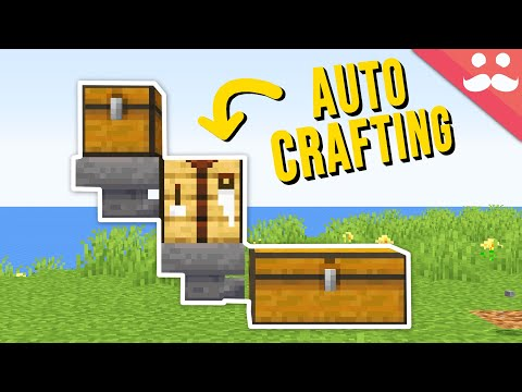 What if Minecraft had Auto Crafting?