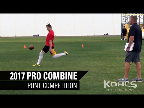 Punt Competition | NFL Prospects | 2017 Kohl's Kicking Pro C