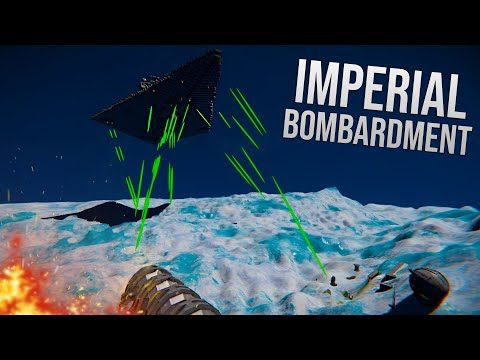 ORBITAL BOMBARDMENT! - STAR WARS - Space Engineers Ft: TheXPGamers!