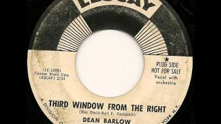 DEAN BARLOW - THIRD WINDOW FROM THE RIGHT