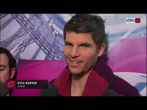 Kyle Korver says he loves playing for Cleveland Cavaliers, speaks on fourth-quarter success