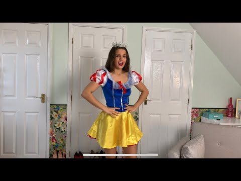 Fever Adult Halloween Costume Try On Haul | Emily Monks from YouTube · Duration:  8 minutes 28 seconds