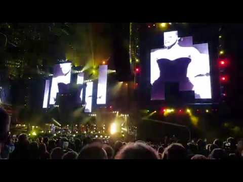 Billy Joel - We Didn't Start The Fire - Live at Old Trafford, Manchester - 16th June 2018