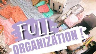 Ma valise : mon organisation qui fait flipper 😂