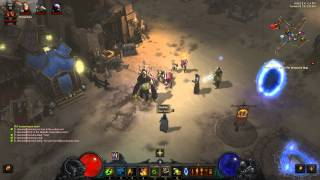 Running Act 2 Bounties for Caldeum Nightshade  - Diablo 3 - 2.3.0 PTR