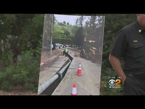 Benedict Canyon Reopens After Major Construction Project Finishes Early