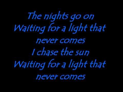 A Light That Never Comes Lyrics Linkin Park (Latest Video 2013!!)