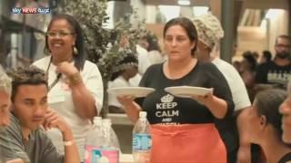 بقايا طعام القرية الأولمبية لإطعام فقراء ريو